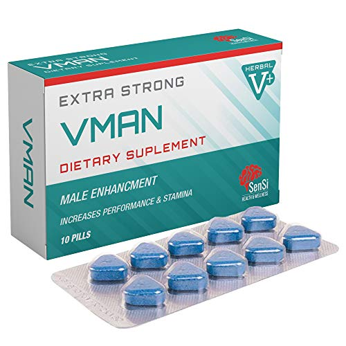 VMAN 500mg | 10 Tablets Immediate Effect, Maximum Duration, Without Contraindications, 100% Natural