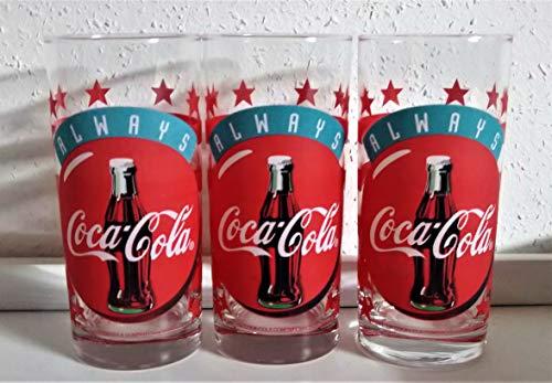 Coca-Cola / Verres Rétro/Original/Always / 1997