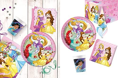YASTA Kit Coordinato Principesse Disney Festa di Compleanno 37pz...