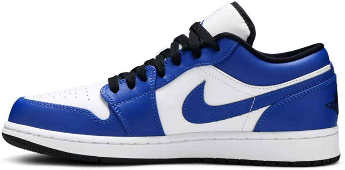 A escala nacional Corte de pelo Destino  Amazon.com | Nike Air Jordan 1 Low (553558-124) Game Royal Size | Basketball
