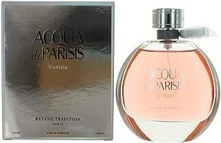 Acqua Di Parisis Venizia Perfume for Women By Reyane Tradition Eau De Parfum Spray 3.4 Oz