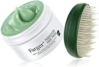 ماسک موی فرگر فریگر طبیعی آرگان روغن درمان نرم کننده موی عمیق مو ، روغن نارگیل موهای مرطوب کننده شدید مو محصولات موی موی سر موهای مایع