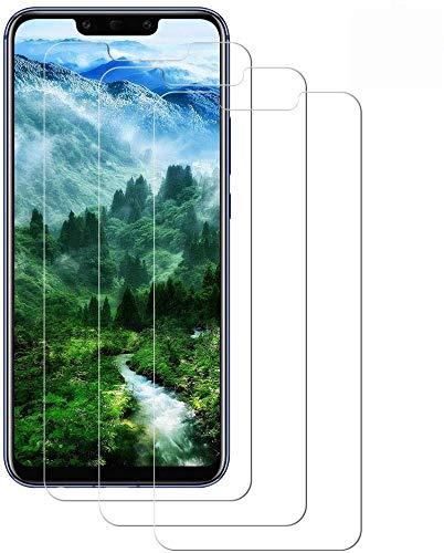 WISMURHI [3 Pezzi Vetro Temperato per Huawei Mate 20 Lite, Pellicola Vetro per Huawei Mate 20 Lite [Anti-Graffio] [Senza Bolle] [3D Touch] [9H Durezza] Huawei Mate 20 Lite Pellicola Protettiva