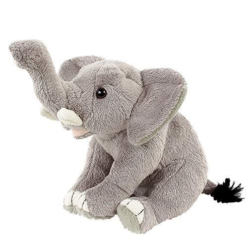 Teddys Rothenburg Elefant sitzend 20 cm Plüschelefant Kuscheltier Stofftier Baby Kinder Spielzeug Plüschtier