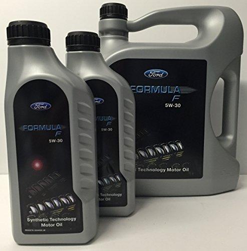 2 x 1 + 1 x 5 litri di olio Ford Longlife Formula F 5W30, WSS-M2C913-C (Contiene WSS-M2C913-A, WSS-M2C913-B) ACEA A5/B5