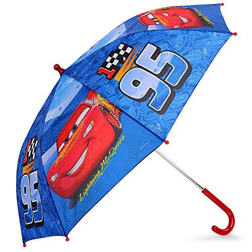 Cars Lightning McQueen Jungen Kinder-Regenschirm Stockschirm