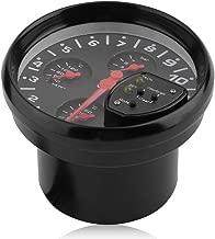 OKAYO Tachometer Gauge Meter Dashboard 4-in-1 0-11K RPM LED Shift Light Auto Oil Pressure Gauge Car Instruments Boost Gauge