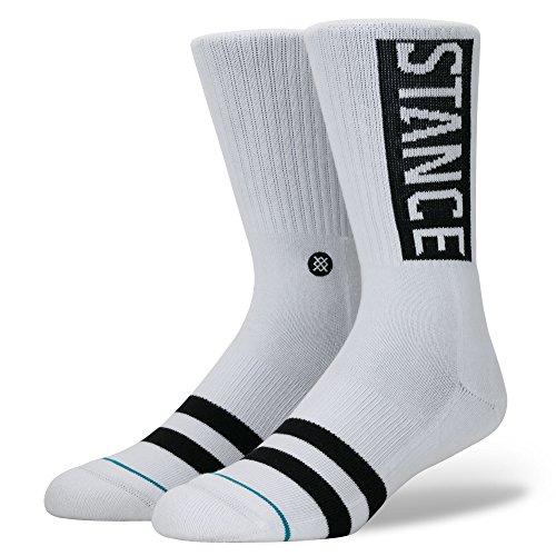 Stance Og Socken Calcetines para hombre, blanco, large