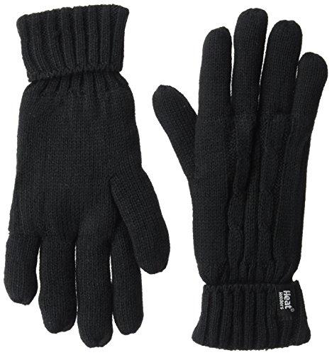 Heat Holders Women's Standard Pair of Gloves, Black, Small/Medium