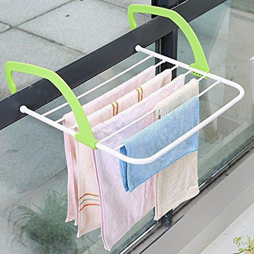 Nopea Edelstahl Handtuch Rack Wäschetrockengestell Tabelle Veranda für Handtuchhalter Wand Wäschetrockner Akkordeon Kleidung Trockner Wandhalterung