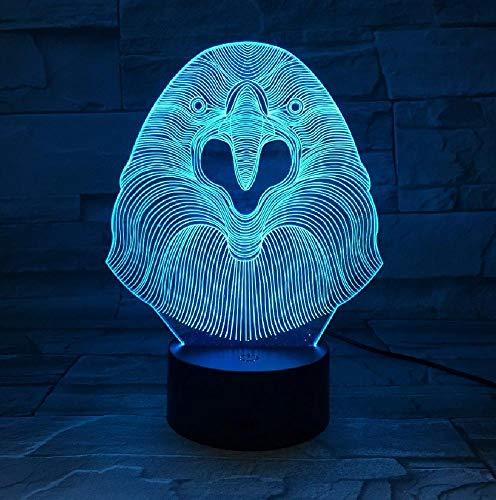 Creatieve cartoon uil nachtlampje lednachtlampje voor gradiënten, sfeerverlichting, app, mobiele telefoon, bluetooth, afstandsbediening, kleur oogbescherming, energiebesparende tafellamp
