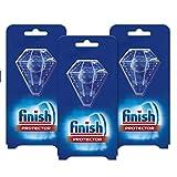 Finish Protector para vajilla y cristal - lavavajillas - 3 unidades