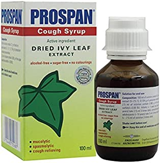 Prospan Cough Syrup - 100ml CHESTY COUGH RELIEF & MUCUS RELIEF