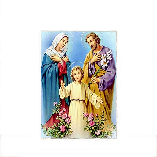 T-YXM DIY 5D Diamante Pintura Figuras religiosas de los Bordados de la Virgen Taladro Cristal Fotos Artes artesanía para la decoración de la Pared de Inicio