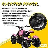 Miniquad Kinder ATV pink/weiß - 4