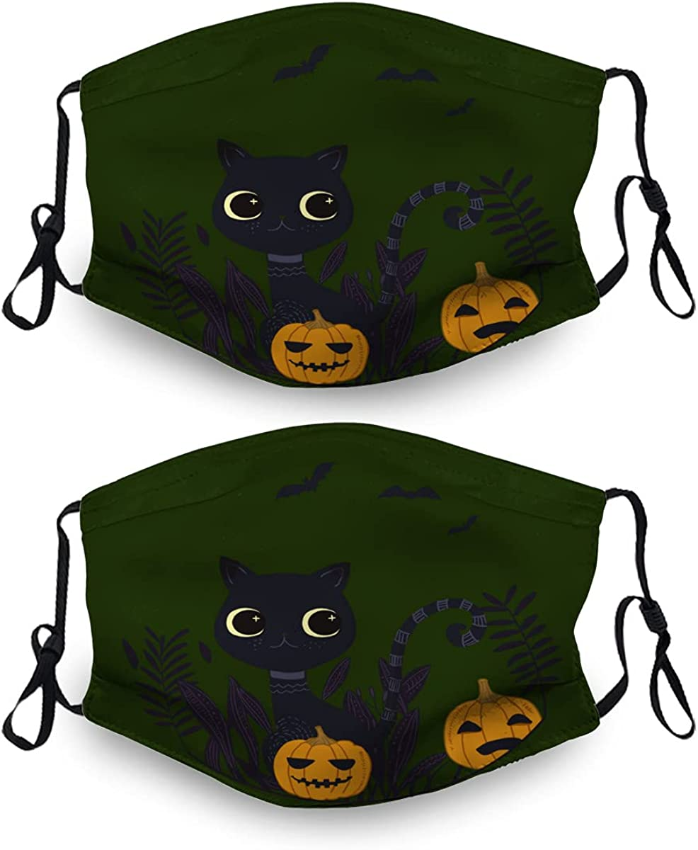 Halloween Ma-Sk Washable Dust OFFicial mail order Ranking TOP3 Mask Reusable 4 Sets with Filter 2
