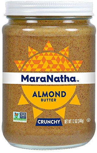 MaraNatha All Natural No-Stir Crunchy Almond Butter (2 Pack) (Packaging May Vary)