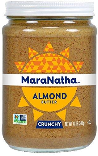 MaraNatha All Natural No-Stir Crunchy Almond Butter (2 Pack) (Packaging May Vary)