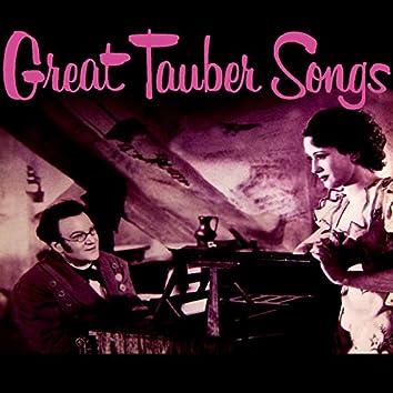 Great Tauber Songs