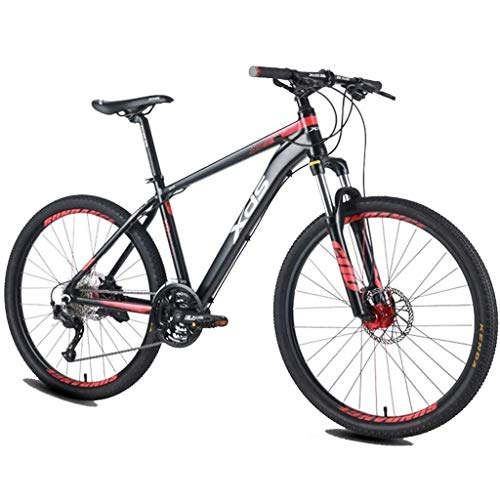 Gq2019 26 Inch Adult Mountain Bikes, 27-Speed Men's Aluminum Frame Hardtail Mountain Bike, Dual-Suspension Alpine Bicycle (Size : Medium)