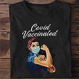 C.o.v.i.d.Vaccine Shirt, C.o.v.i.d.Vaccinated Shirt, Healthcare Hero T-Shirt Long Sleeve Sweatshirt Hoodie