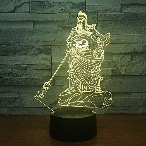 Supereroe Personaggio 3D Illusion Lampada 3D Luce notturna per ragazze dei ragazzi Lampada da tavolo da tavolo 16 Lampada decorativa a cambiamento di colore Regali Festa di compleanno Natale per