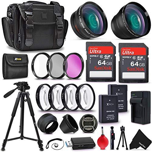 Ultimate Accessory Kit for Nikon D5500 D5300 D5200 D5100 D3300 D3200 P7800...