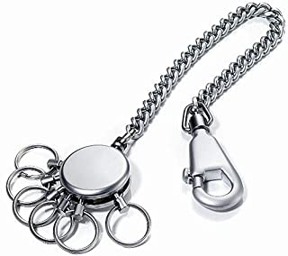 Sensi Patented Chain Keyholder with 6 Rings