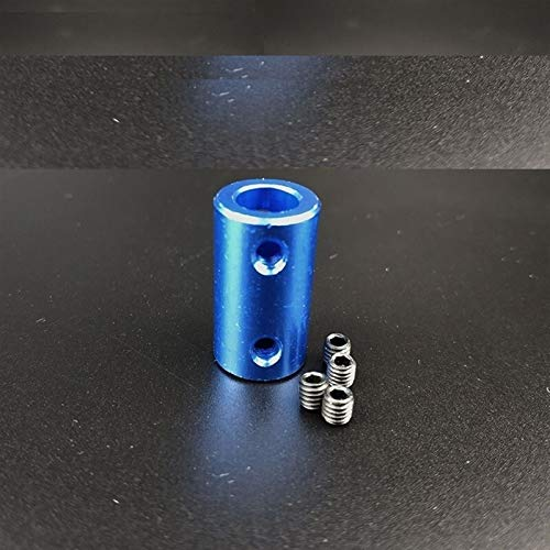WNJ-TOOL, 1pc 5x5 5x8 8x8 3D Accesorios for Impresoras de Aluminio acoplamientos Nave Modelo acoplamientos 5 * 5 * 5 * 8 8 8 Blue acoplamientos (tamaño : 8x8)