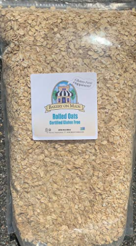 Bakery on Main, Happy Oats, Rolled Oats, Gluten-Free, Non GMO Project Verified, Kosher, 7.5 Pound Resealable Bag