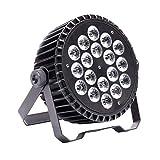 UKing Par Luces de Escenario LED, 200W RGBW LED Control de Coche/Voz/ DMX512 Par Iluminación para Club Bar KTV Boda Casa Halloween Navidad