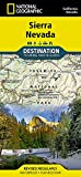Sierra Nevada (National Geographic Destination Map)