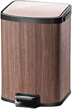 Step Trash Can Pedal Dust Bin Waste Basket Trash Can Garbage Recycle Bin Silent Lid Removable Inner Bucket Compact Waste B...