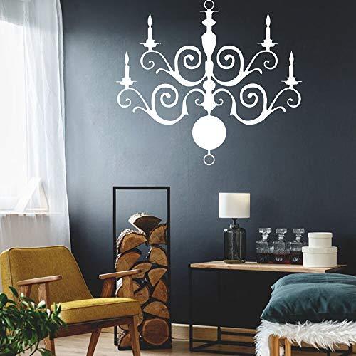 yaonuli Klassieke stickers voor kroonluchter, decoratie van het huis, Scandinavische stijl, waterbestendig, wandsticker, decoratie van het huis, accessoires