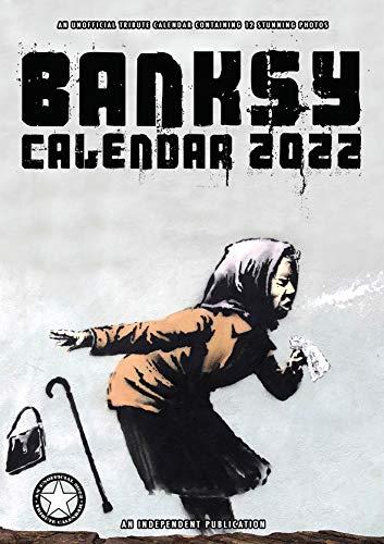 Calendario 2022 BANKSY - STREET ART - GRAFITTI - MAXI FORMAT - FORMAT A3 + OMAGGIO AGENDA POCKET 2022