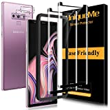 [2+2 Pack] UniqueMe Screen Protector and Camera Lens Protector for Samsung Galaxy Note 9 Tempered Glass,3D Full Coverage Film HD [Alignment Frame Easy Installation] Edge to Edge Protection