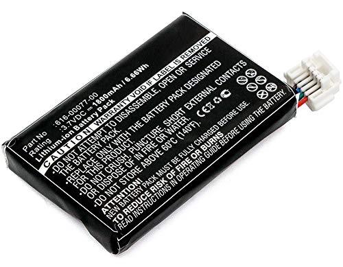 CELLONIC® Batteria Premium Compatibile con Garmin Zumo 595LM Zumo 590LM, 010-12110-003 361-00077-10 616-00077-00 616-00077-10 1800mAh accu Ricambio Sostituzione