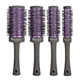 Best Round Hair Brushes - Professional Round Brush for Blow Drying, Nano Thermic Review