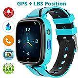 Kinder Uhr Smart Watch, GPS Telefon Uhr, LBS...