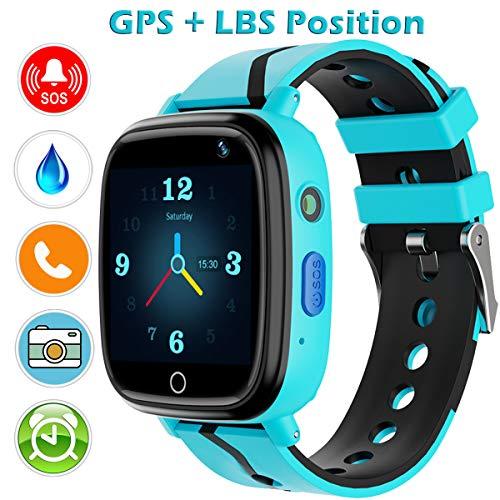 Reloj inteligente con GPS Wifi, rastreador teléfono, cámara,linterna y juegos de Yenisey