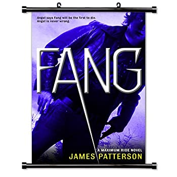 Maximum Ride  Fang  James Patterson  Fabric Wall Scroll Poster  32  x 48   Inches