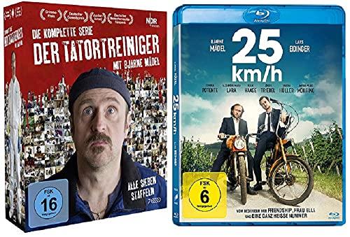 Der Tatortreiniger - Die komplette Serie - Komplettbox + 25 km/h / Bjarne Mädel Paket [Blu-ray Set]