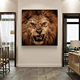Modern Animal Posters and Prints murals on The Art Canvas