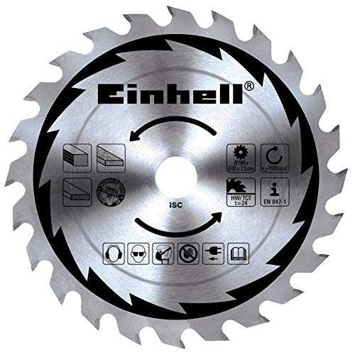 Einhell Handkreissäge TC-CS 1200 (1230 W, max. 55 mm, Sägeblatt Ø 160 mm, 24 Zähne, Parellanschlag) - 2