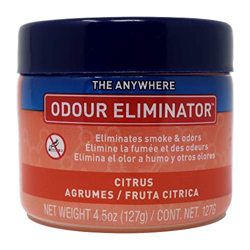 Ozium Gel Smoke & Odor Eliminator - The Original Anywhere Odor Eliminator & Deodorizer, Fresh Citrus Scent for Home, Office, RV and Car Air Freshener 4.5 oz Gel