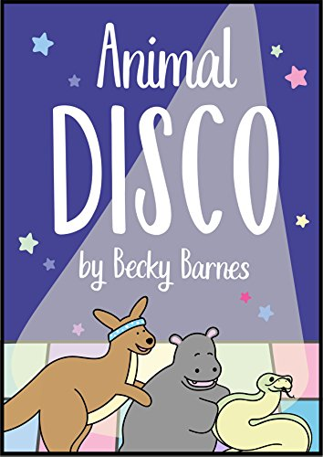 Animal Disco (A Fun Interactive Picture Book/Beginner Reader for Kids Aged 3-8,...