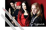 1art1 Nightwish Poster (91x61 cm) Red (14147) Inklusive EIN