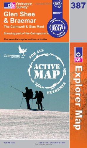 OS Explorer map 387 : Glen Shee & Braemar