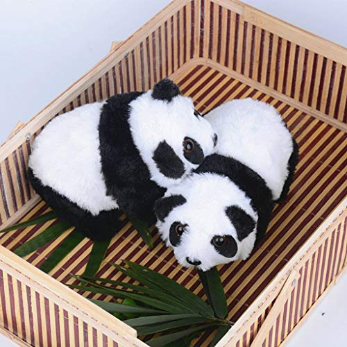 ValueVinylArt Cute Plush Panda, 6.69x4.33x3.15 Stuffed Animal Electric Walking Musical Plush Toy Gifts for Kids (6.69x4.33x3.15, Panda)