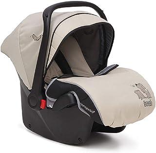 Asiento para niños, grupo de asientos para bebés Sarah 0+ (0-13 kg) con funda para los pies, color:beige
